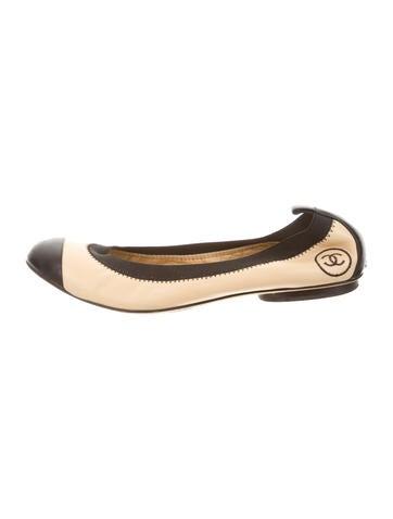 Chanel Stretch Spirit Leather Flats