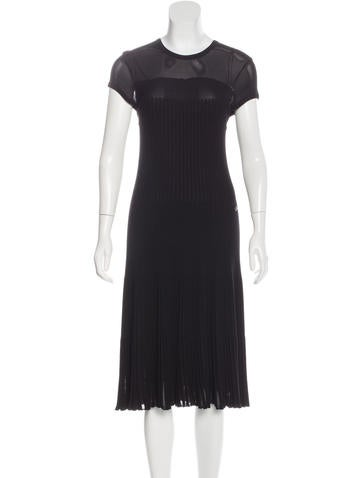 Chanel Wool Midi Dress None