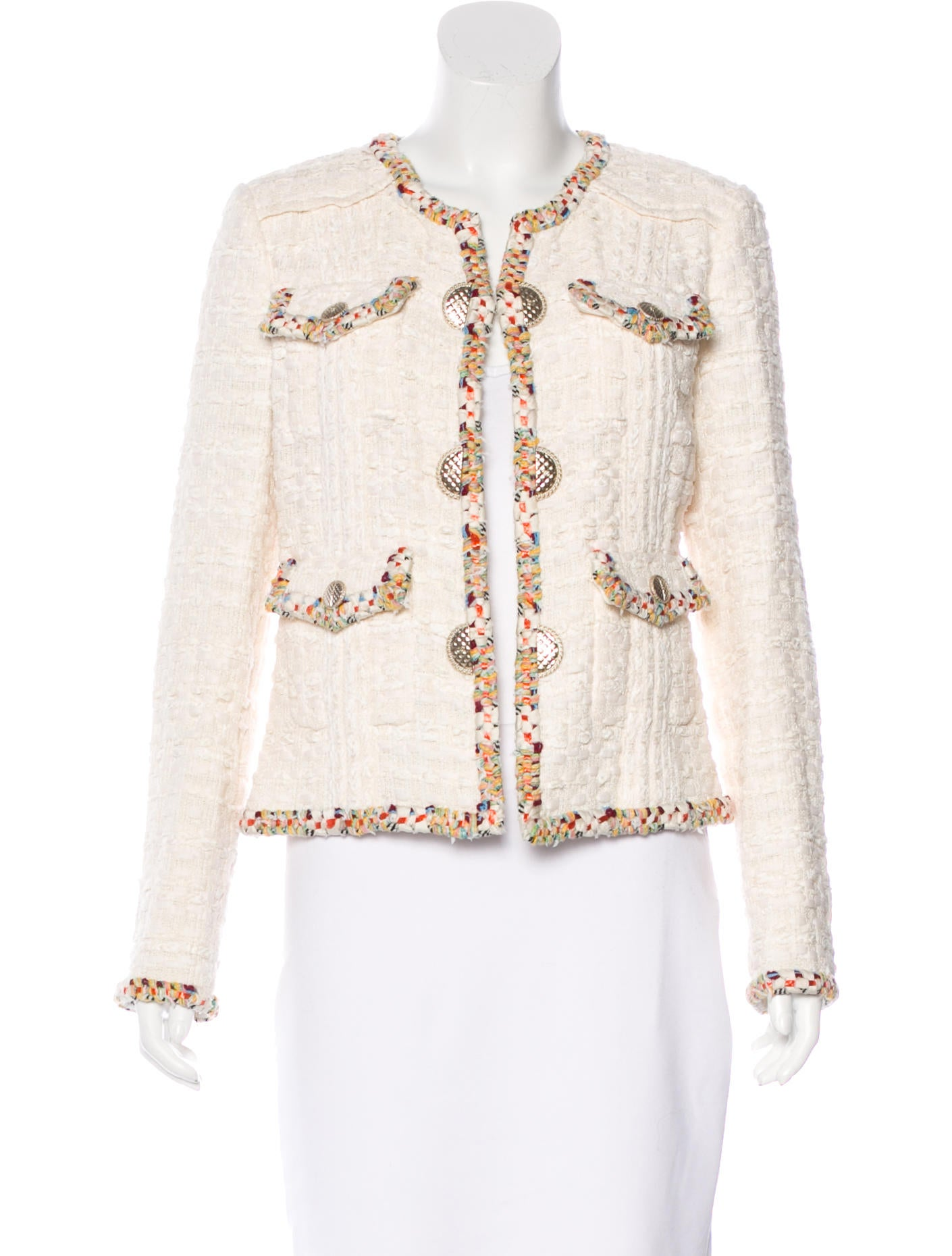 Dining Room Serving Tables Chanel 2017 Paris Cuba Tweed Jacket Clothing Cha151609