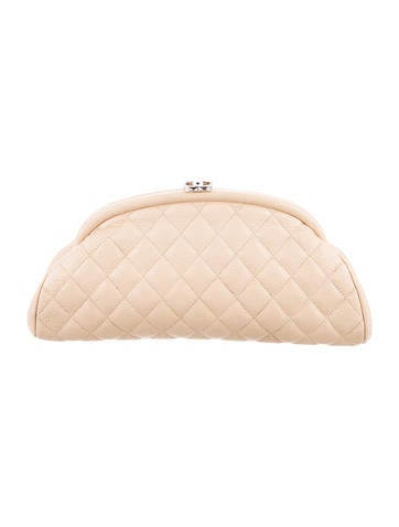 Chanel Caviar Timeless Clutch