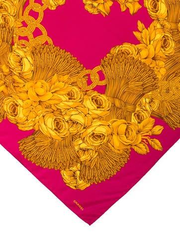 Camellia Wheat Scarf