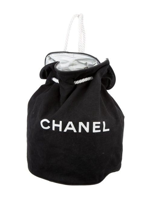 b5afdb5f983236 Chanel Canvas Drawstring Backpack - Handbags - CHA152465 | The RealReal