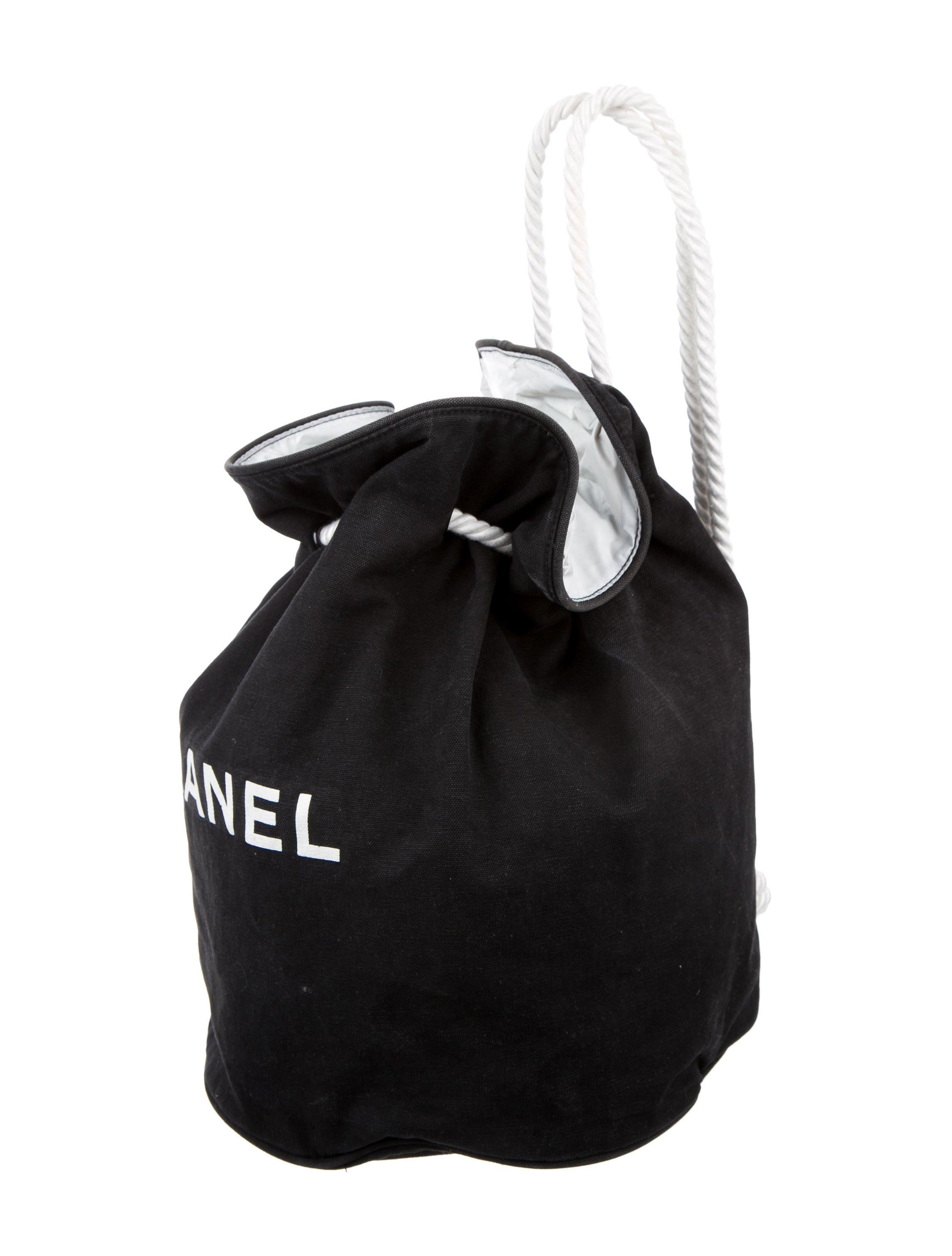 Chanel Canvas Drawstring Backpack - Handbags - CHA152465 | The ...