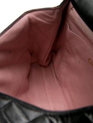 Vintage Quilted Top Handle Bag