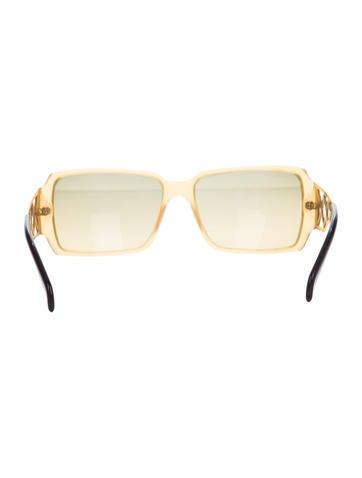 Rhinestone Narrow Sunglasses
