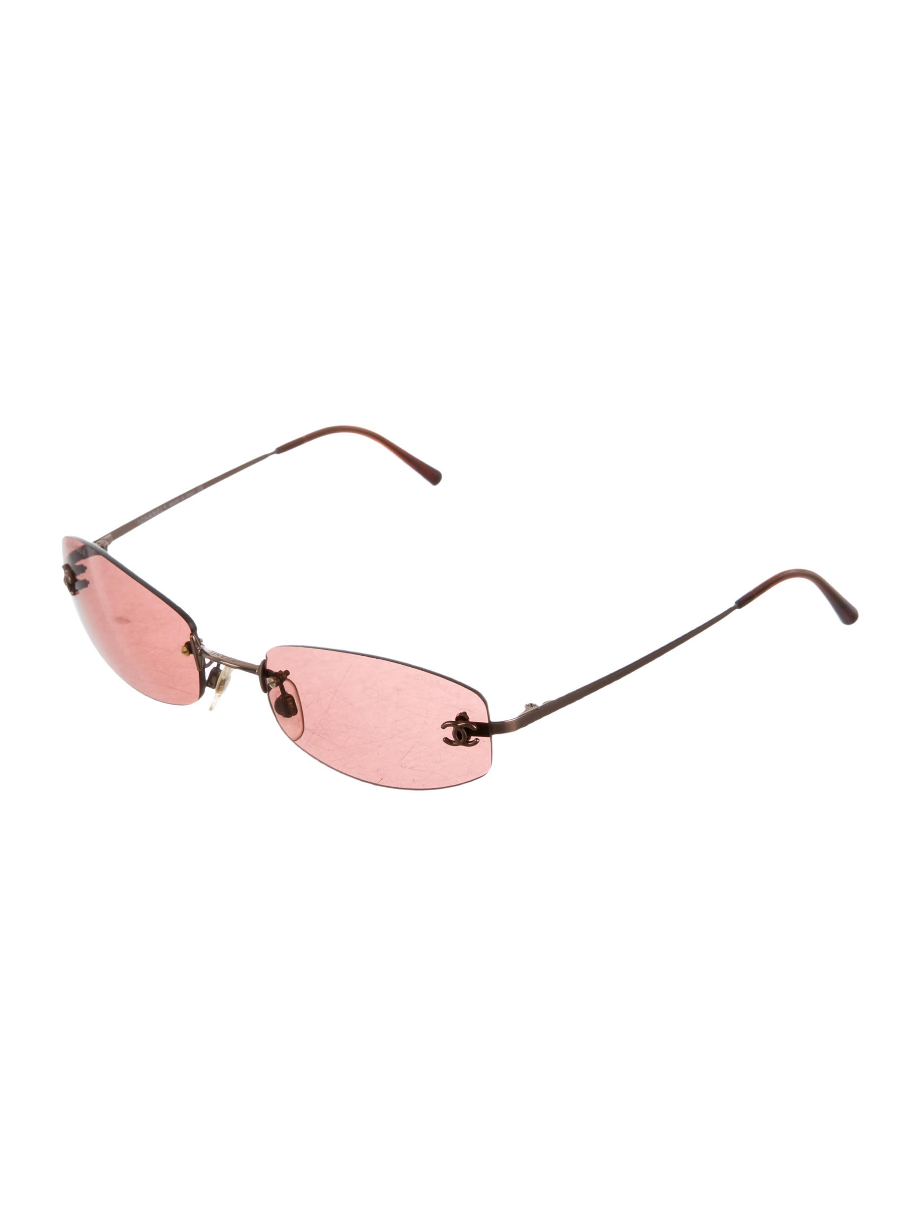 b32deb96713de Chanel Rimless CC Sunglasses - Accessories - CHA153521
