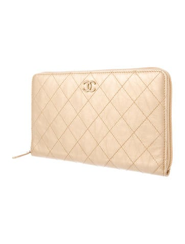 Quilted Travel Wallet