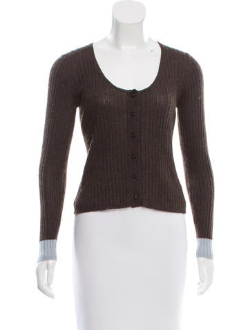 Chanel Cashmere & Silk-Blend Cardigan None