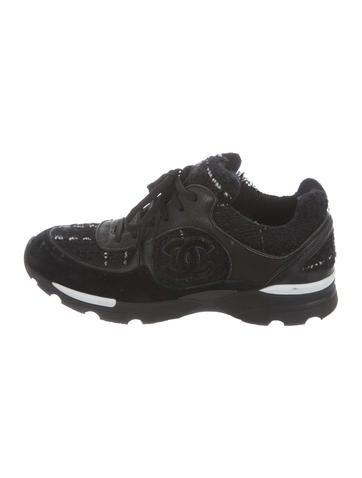 Tweed CC Sneakers