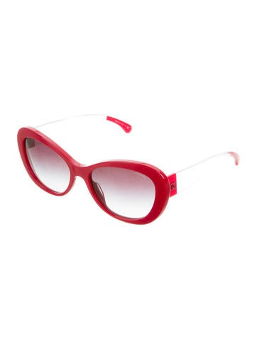 CC Cat-Eye Sunglasses w/ Tags