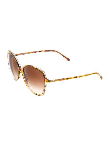 Signature Oval Sunglasses w/ Tags