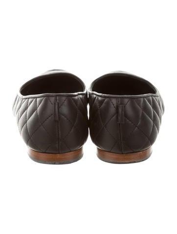 Quilted Cap-Toe Flats