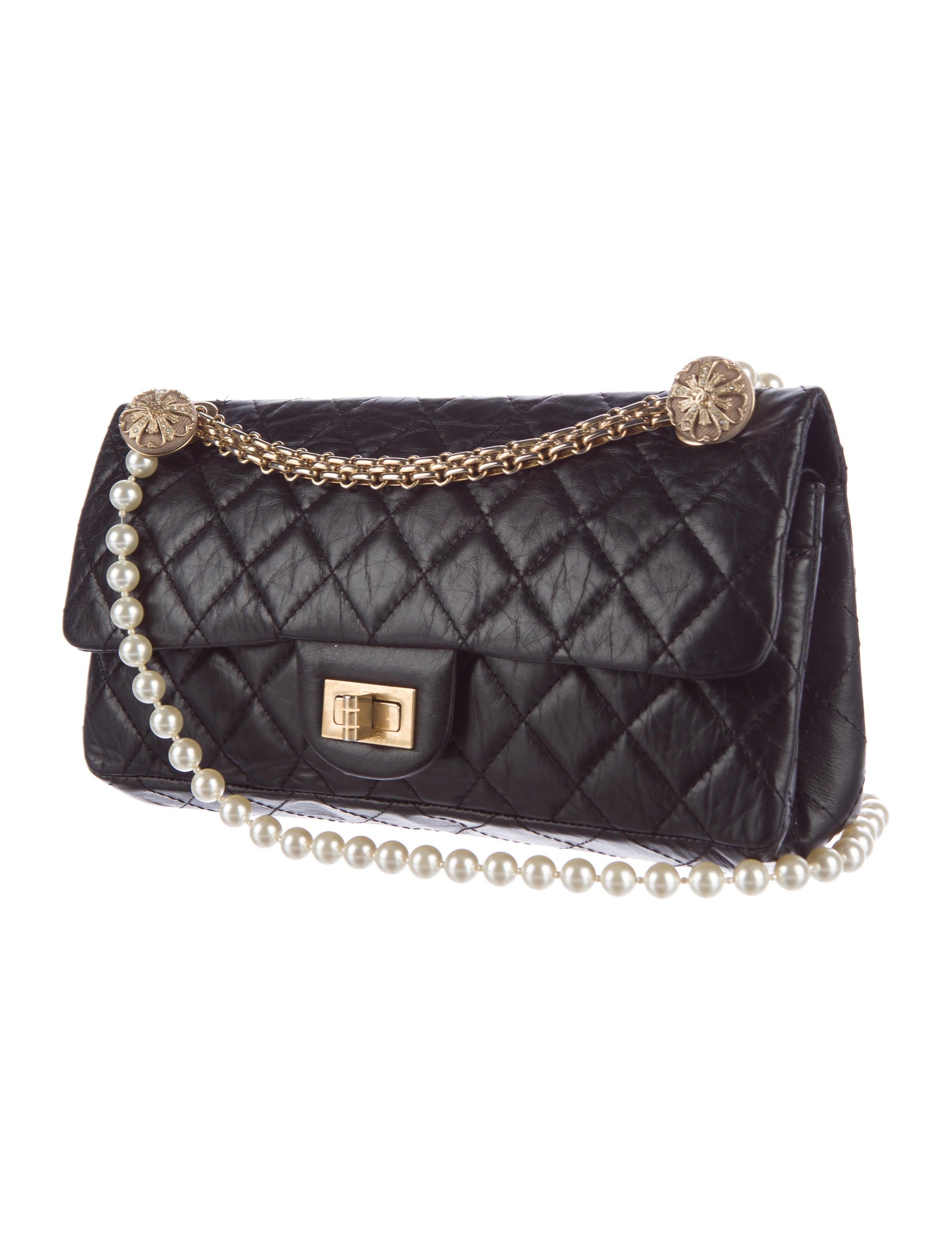chanel reissue charm flap bag handbags cha154761 the