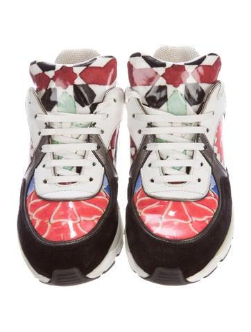 Printed CC Sneakers