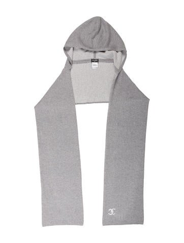 Chanel 2015 Cashmere Hooded Scarf None