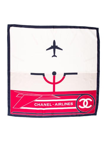 Spring 2016 Airlines Silk Scarf