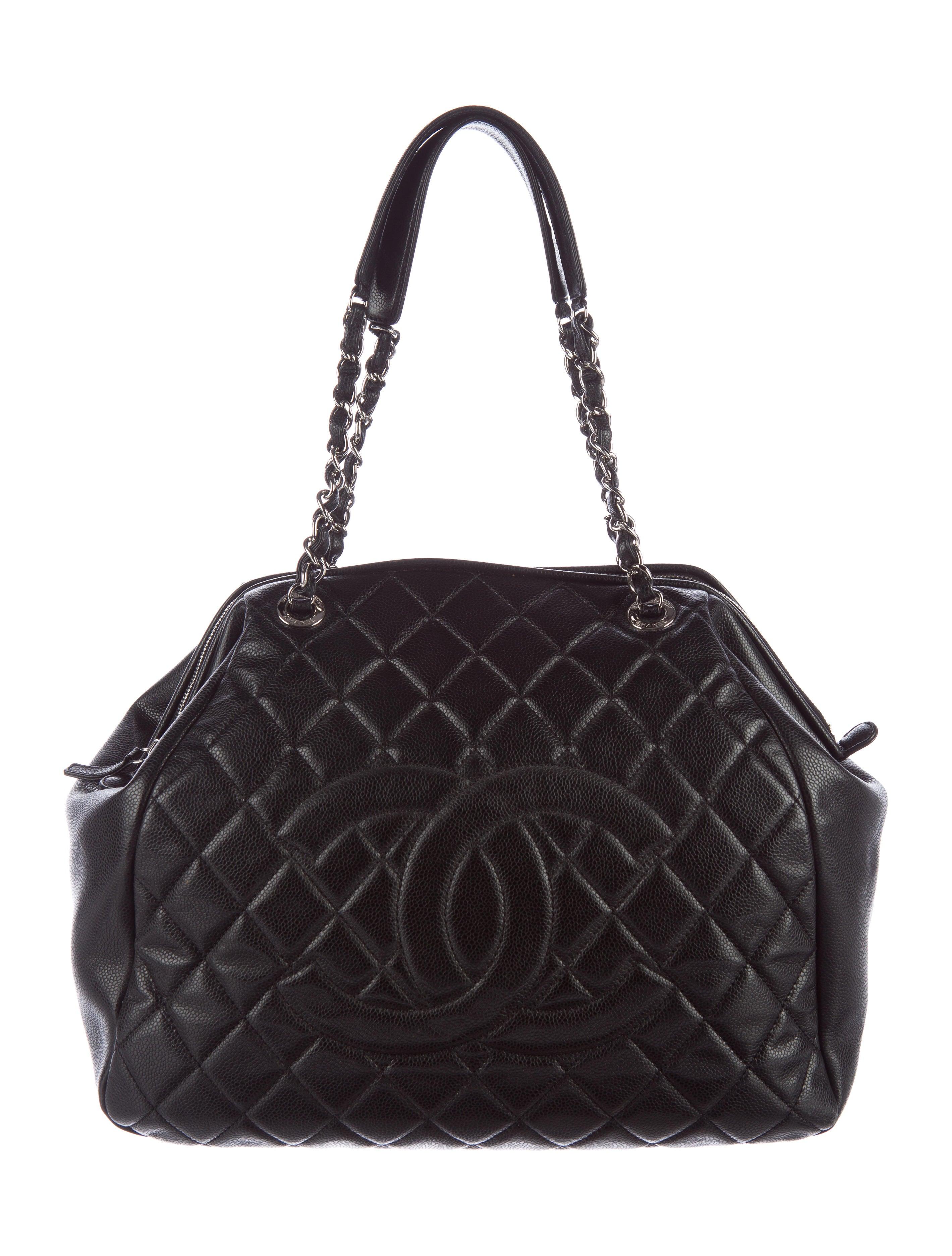 Chanel Timeless Caviar Framed Bag - Handbags
