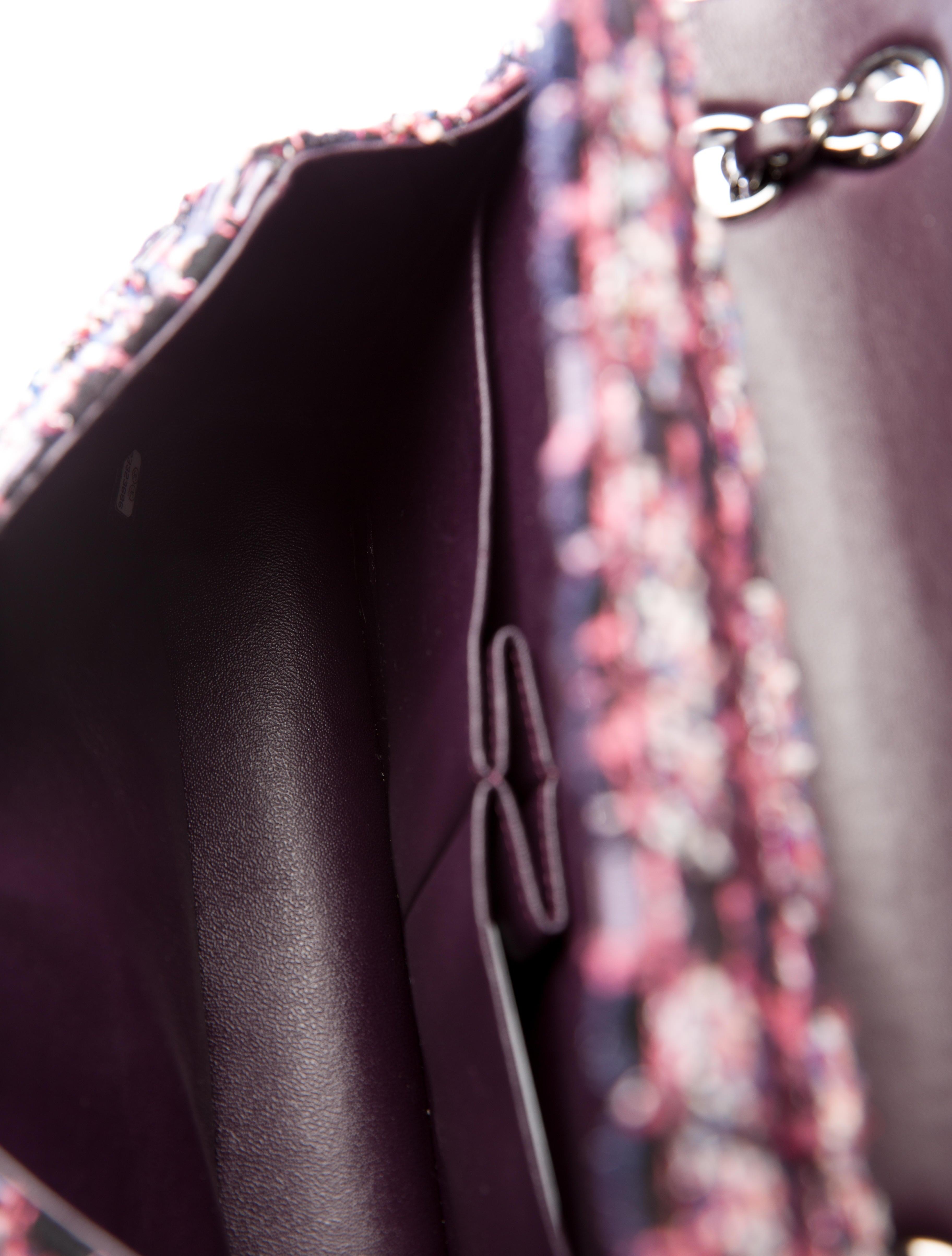 282c975b90d0 Chanel Pre-Fall 2016 Tweed Medium Classic Double Flap Bag w  Tags ...