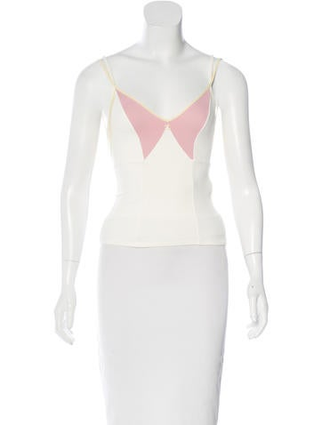 Colorblock Sleeveless Top w/ Tags