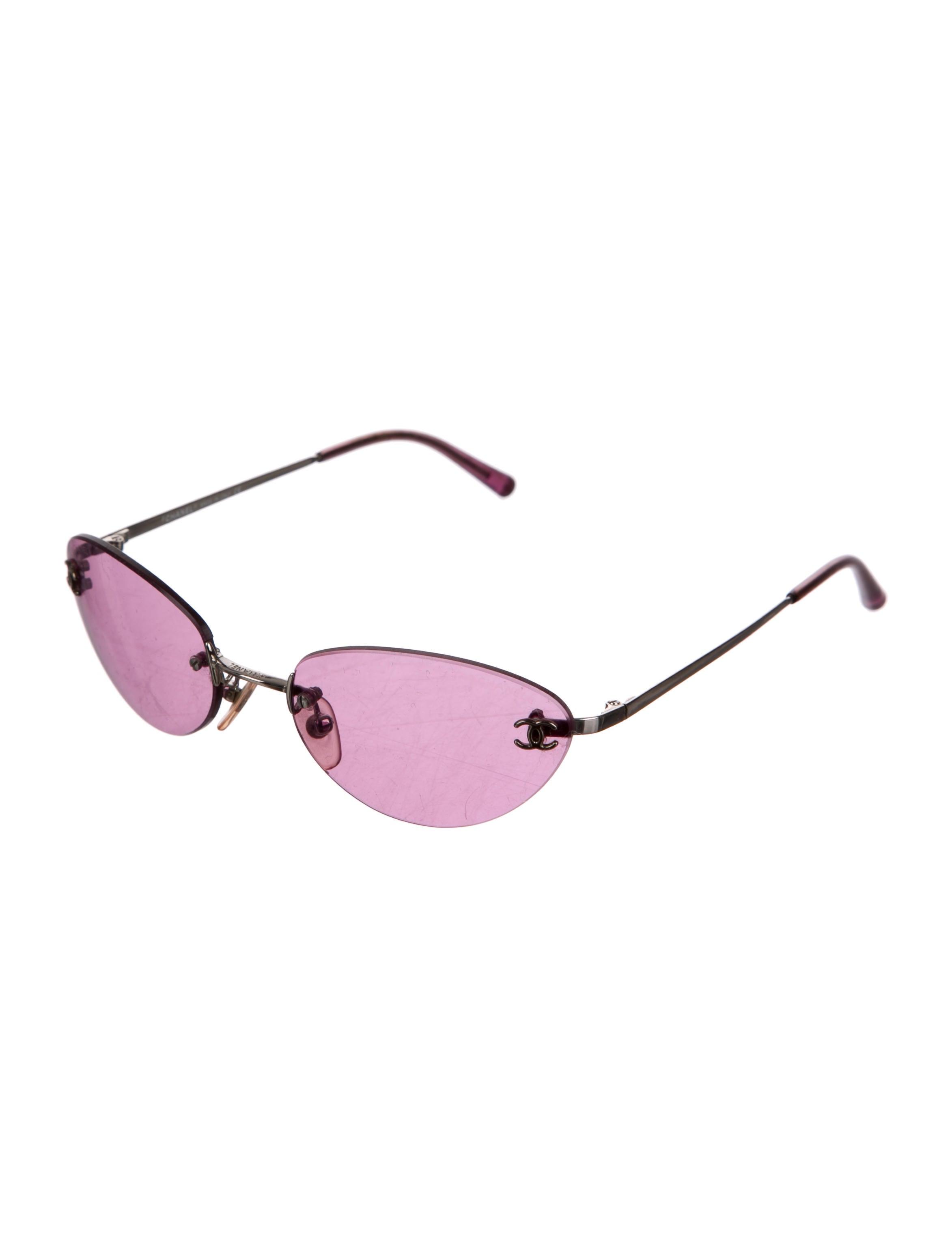 Rimless Chanel Glasses : Chanel Rimless CC Sunglasses - Accessories - CHA157913 ...