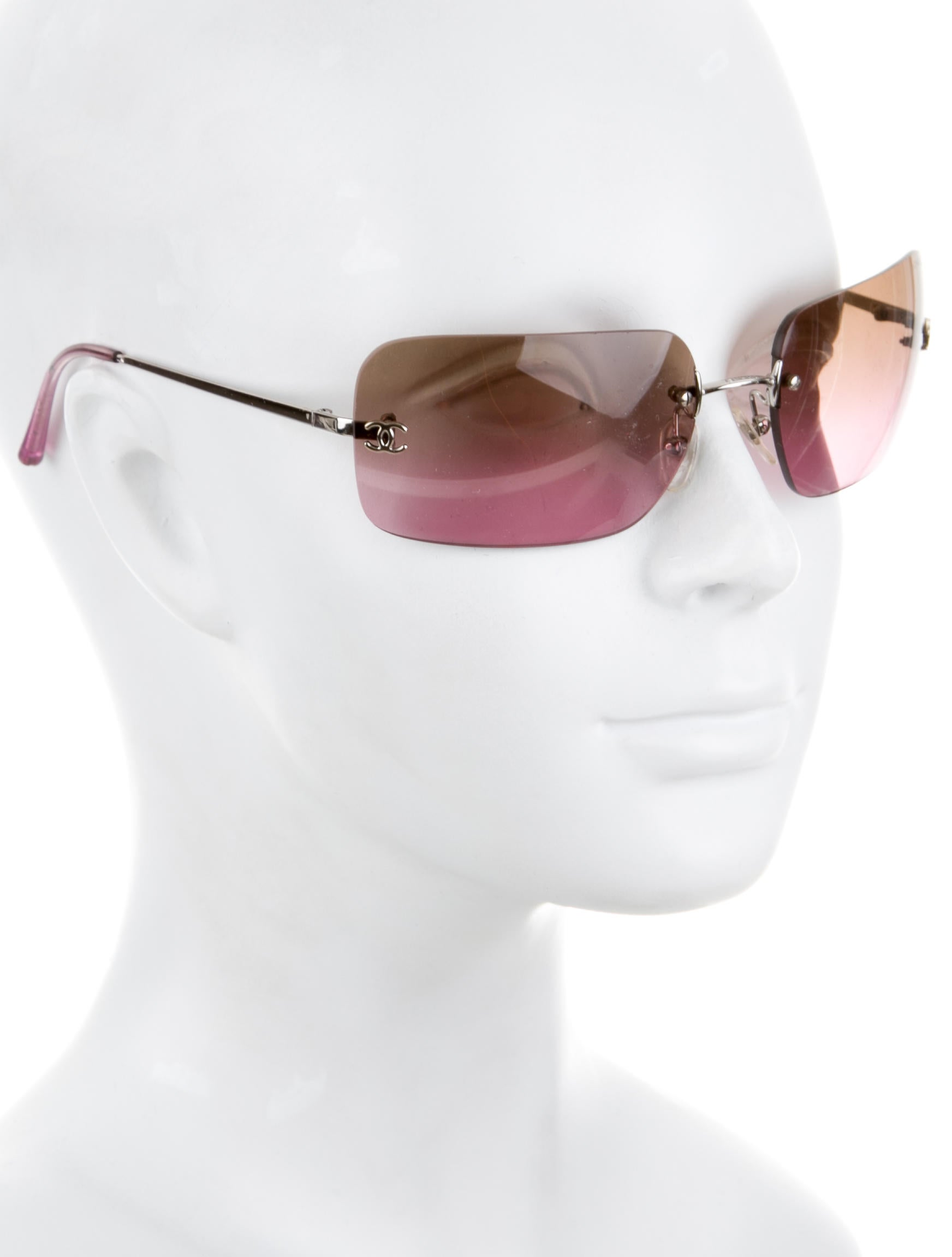 Chanel Rimless CC Sunglasses - Accessories - CHA158141 ...