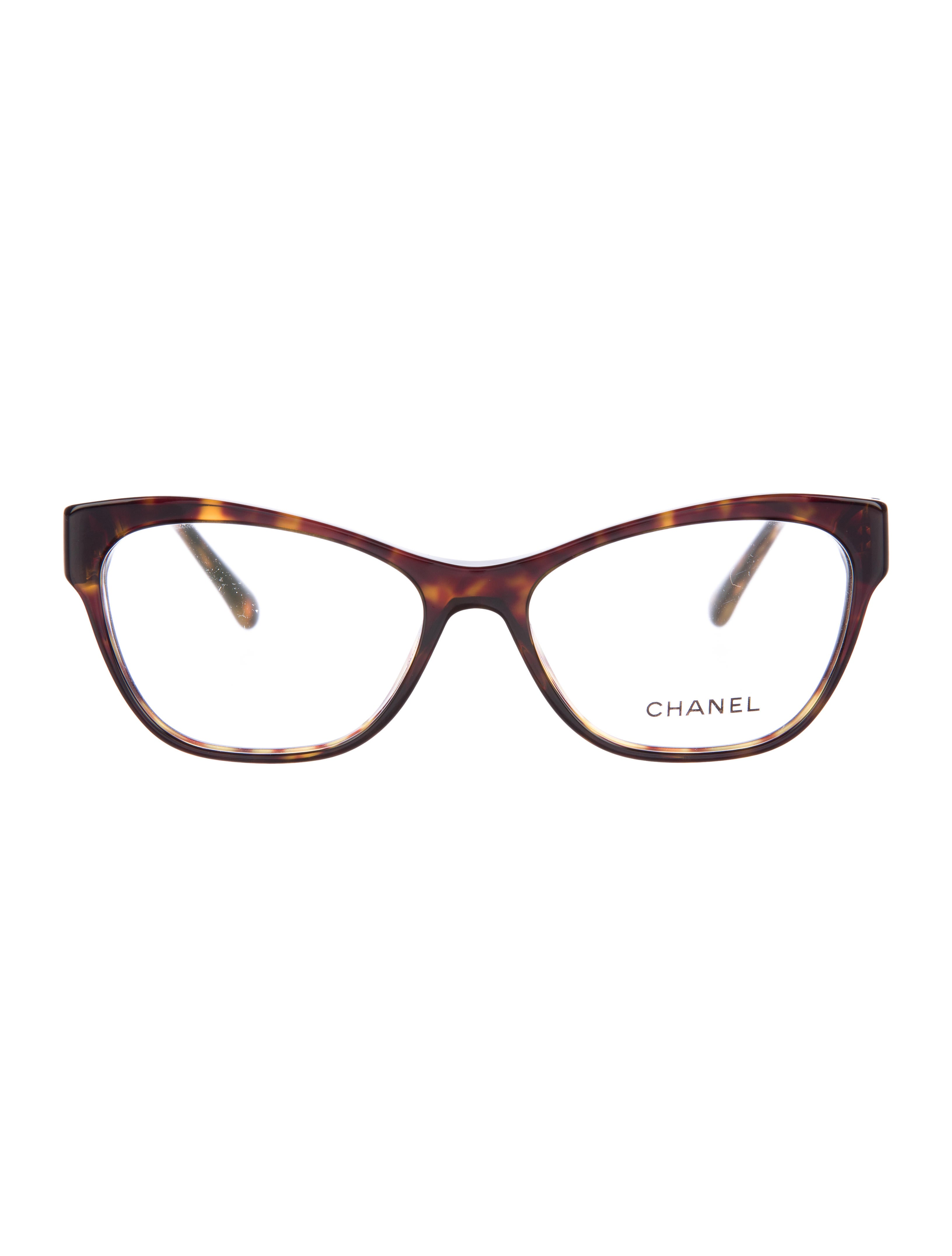 chanel cc cat eye eyeglasses accessories cha158501