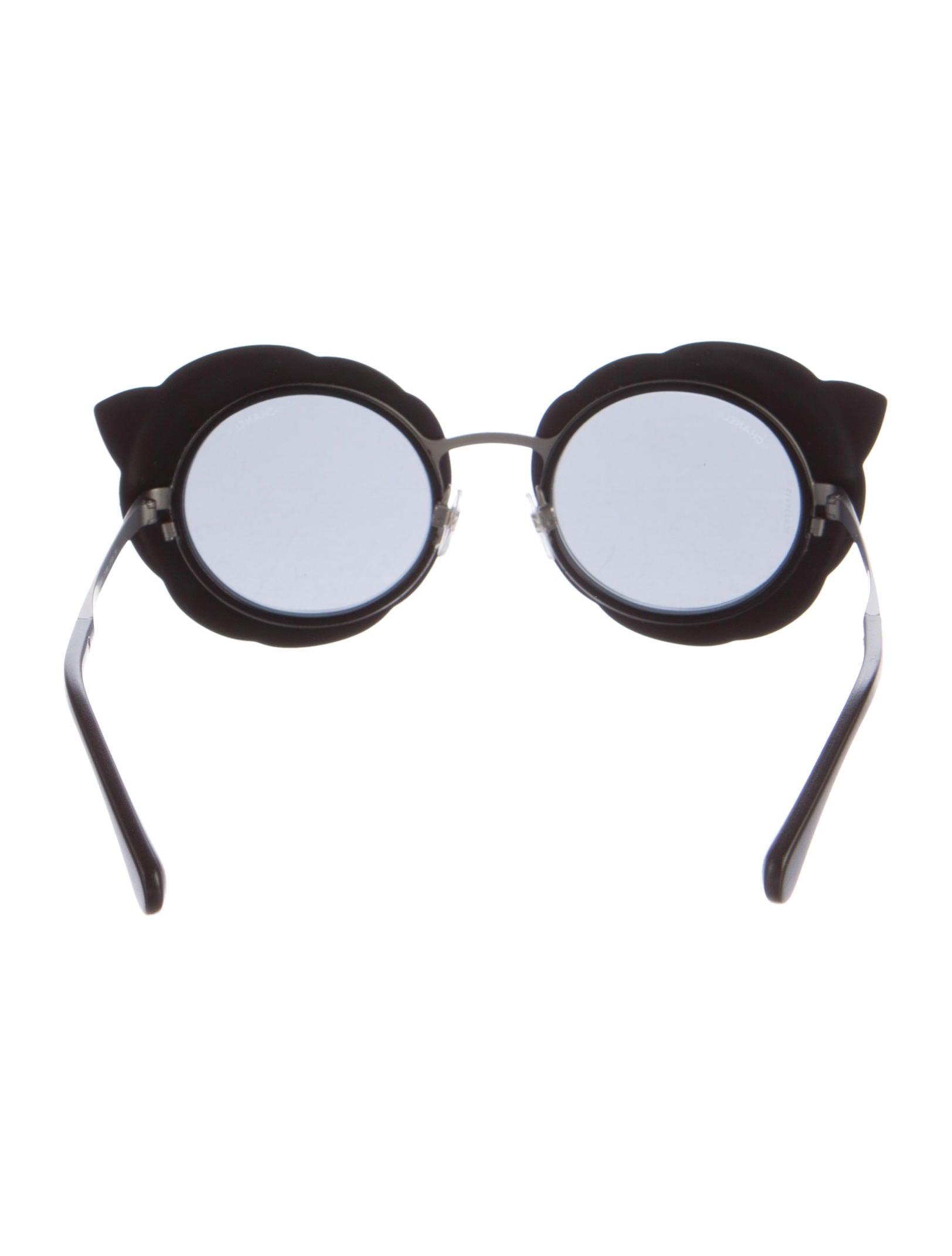 Chanel Round Runway Sunglasses - Accessories - CHA158628 ...