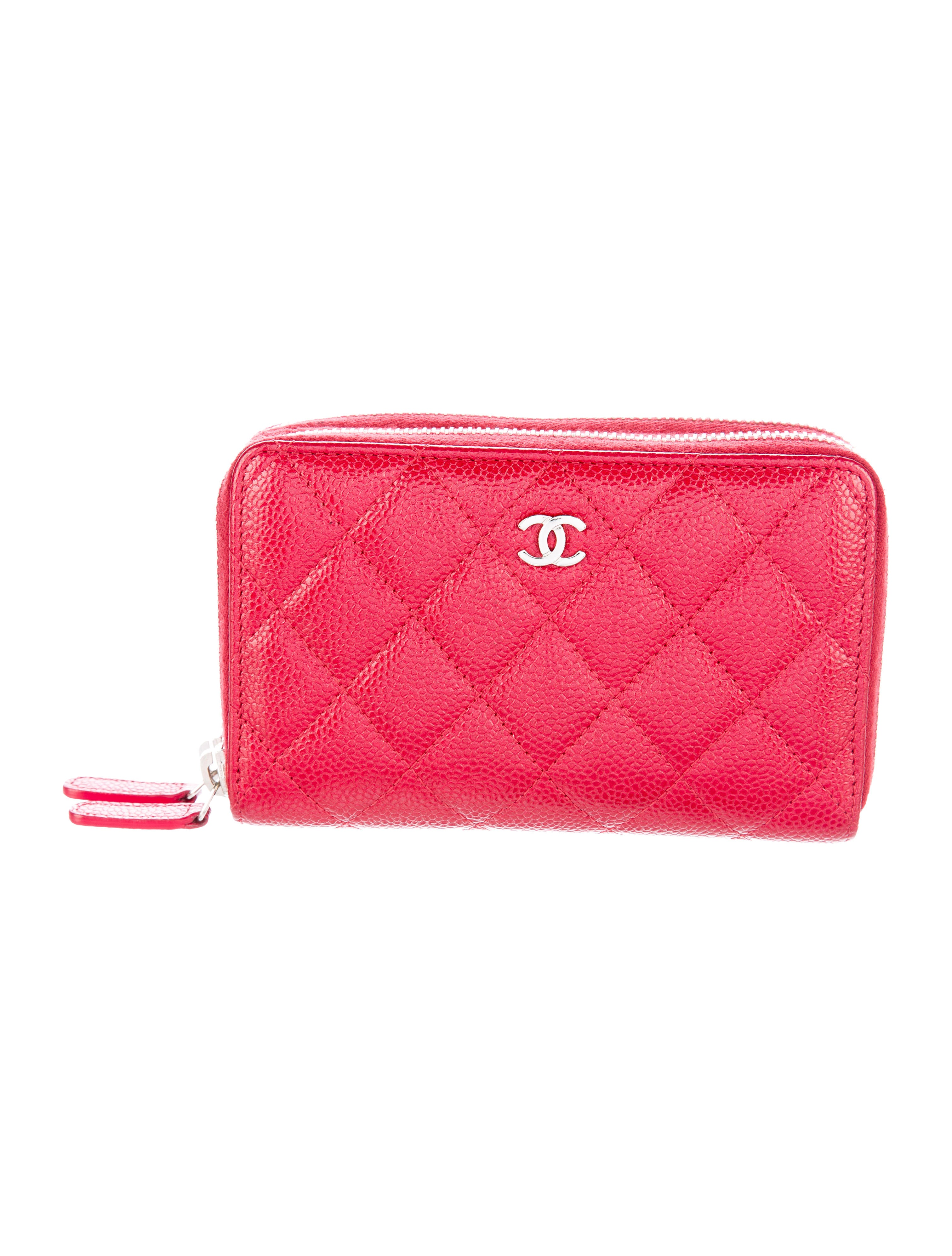 Chanel Cruise 2015 Caviar Double Zip Large Gusset Wallet ... 542a121259afe