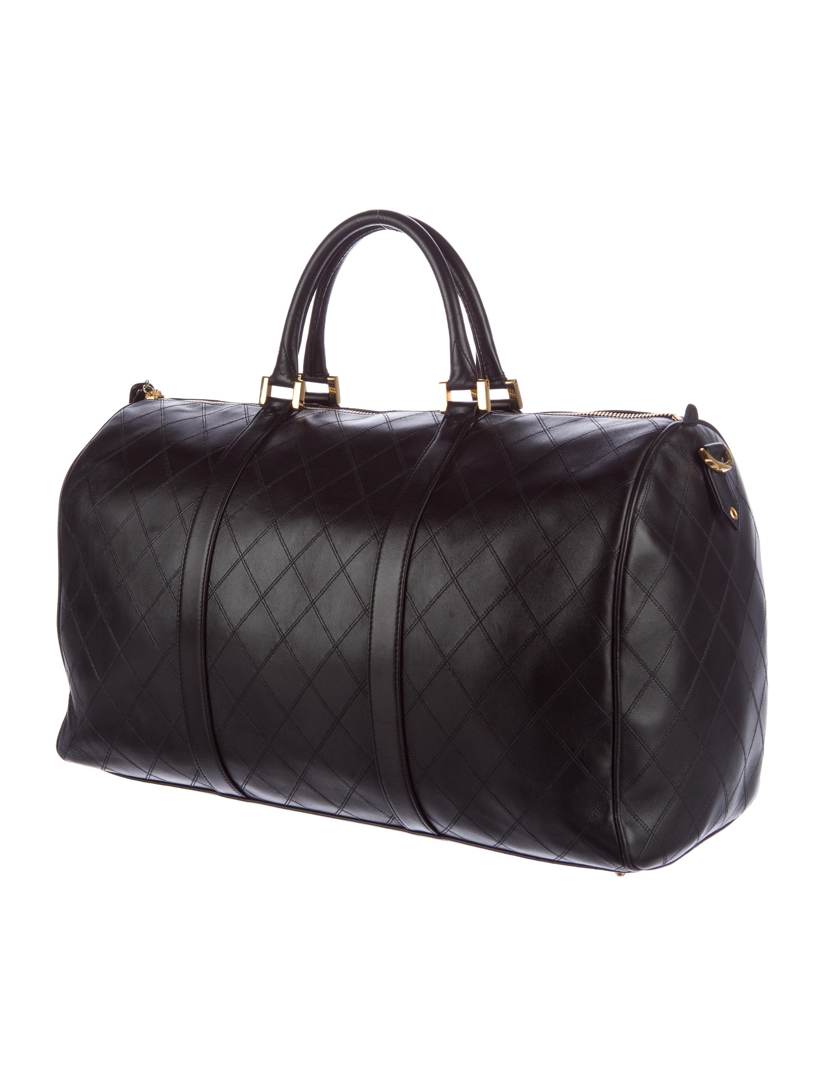 Chanel Quilted Duffle Bag - Handbags - CHA158720 | The RealReal : quilted duffle bags - Adamdwight.com