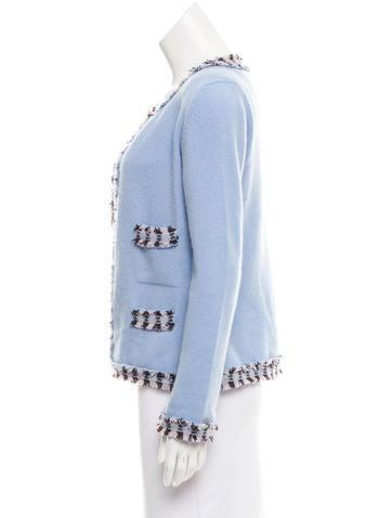 CC Cashmere Cardigan Set