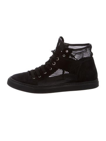 2015 Mesh High-Top Sneakers