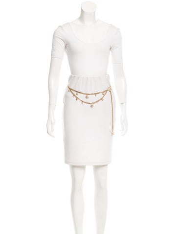 Crystal CC Chain Waist Belt