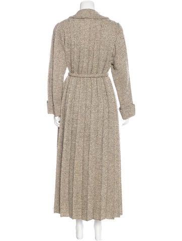 Tweed Wool Skirt Suit