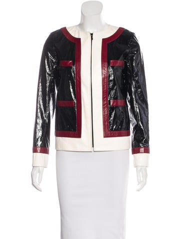 2016 Paris-Rome Lambskin Jacket w/ Tags