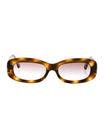 Tortoiseshell Camellia Sunglasses