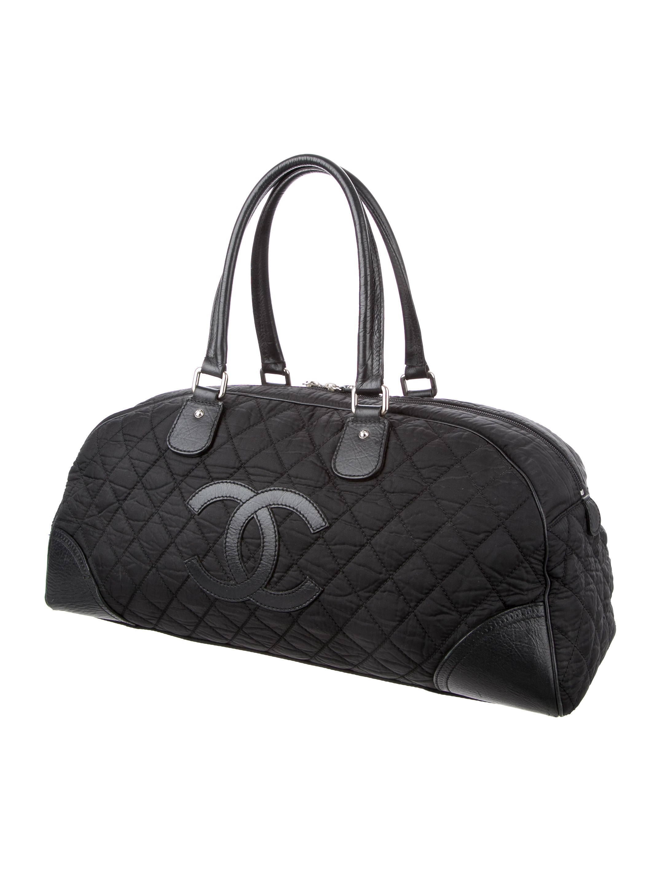 Chanel Quilted Cc Duffle Bag Handbags Cha159600 The