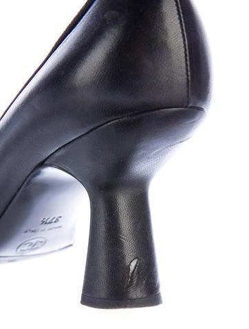 Cap-Toe Leather Pumps