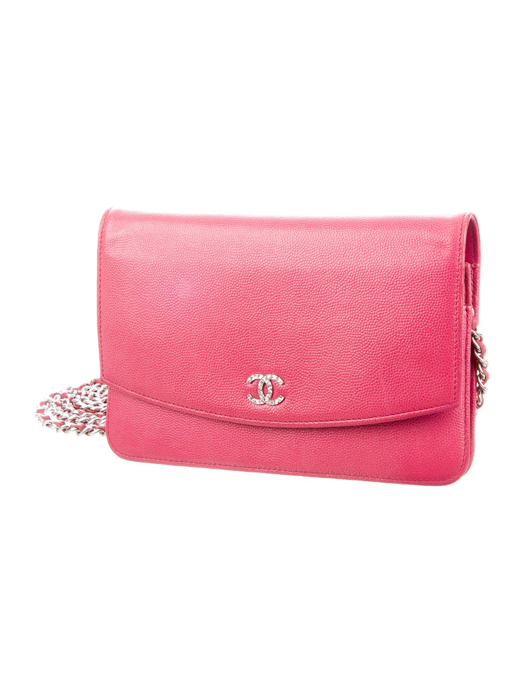 e647bdf22886 Chanel Caviar Sevruga Wallet On Chain - Handbags .