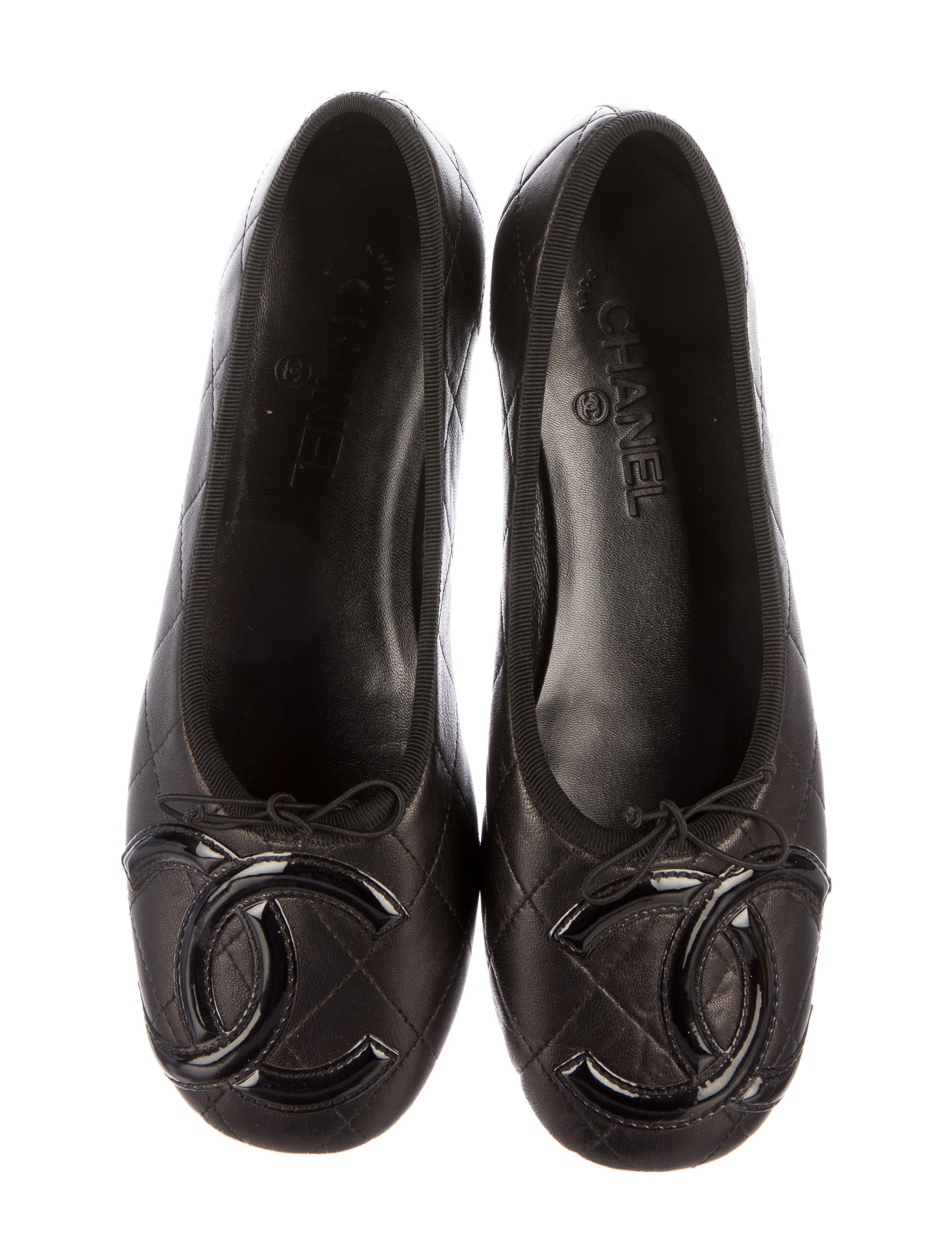 Chanel Ligne Cambon Flats Shoes Cha160271 The Realreal