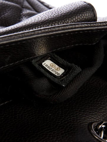 Caviar Quilted Medium Now And Forever Bag