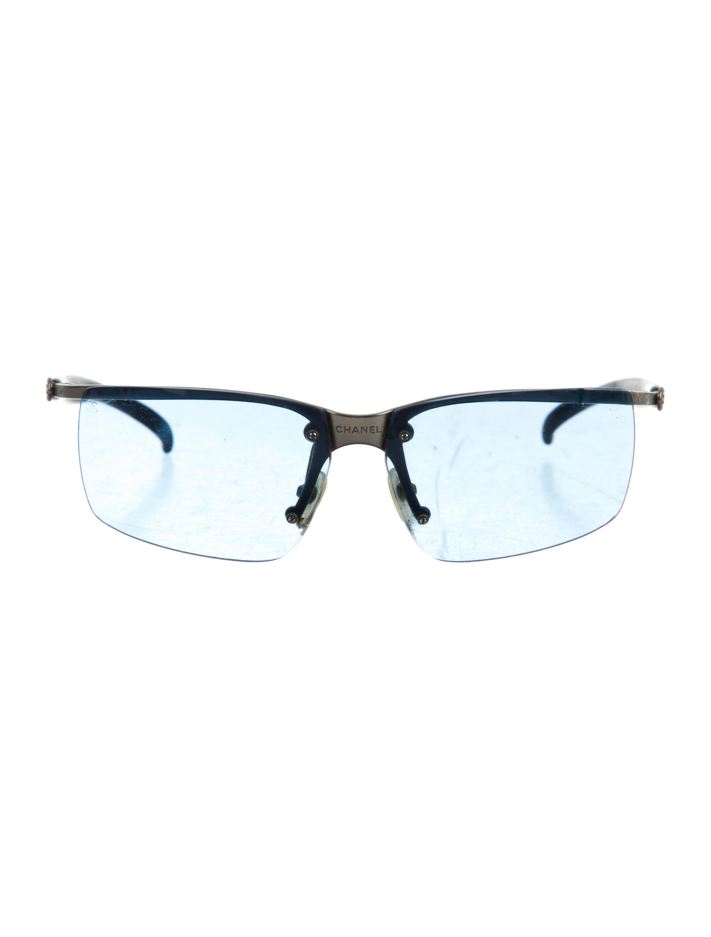 Rimless Chanel Glasses : Chanel Rimless CC Sunglasses - Accessories - CHA160432 ...