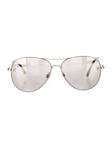 Chanel Sunglasses Aviator  chanel sunglasses the realreal