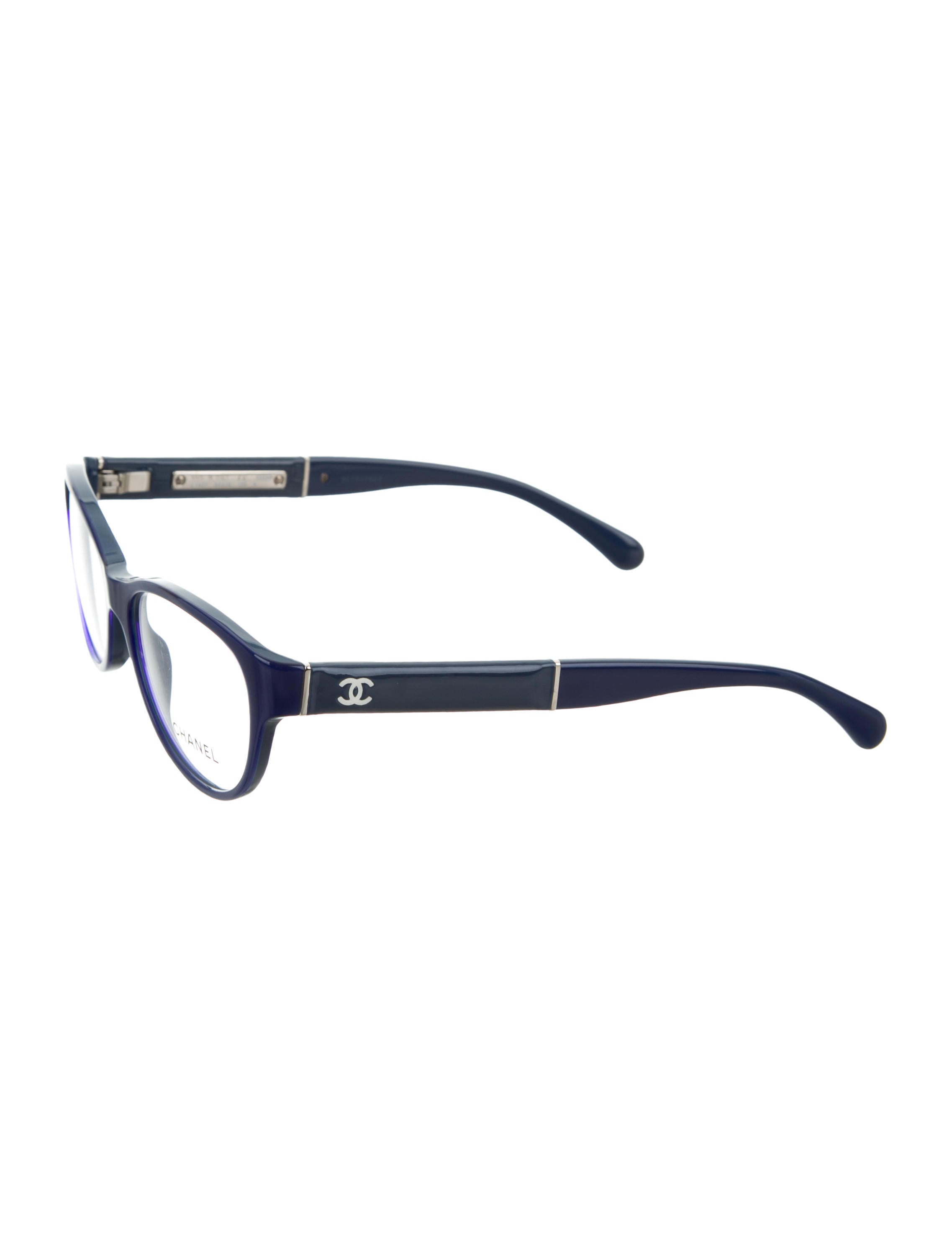 Chanel CC Bicolor Eyeglasses w/ Tags - Accessories ...