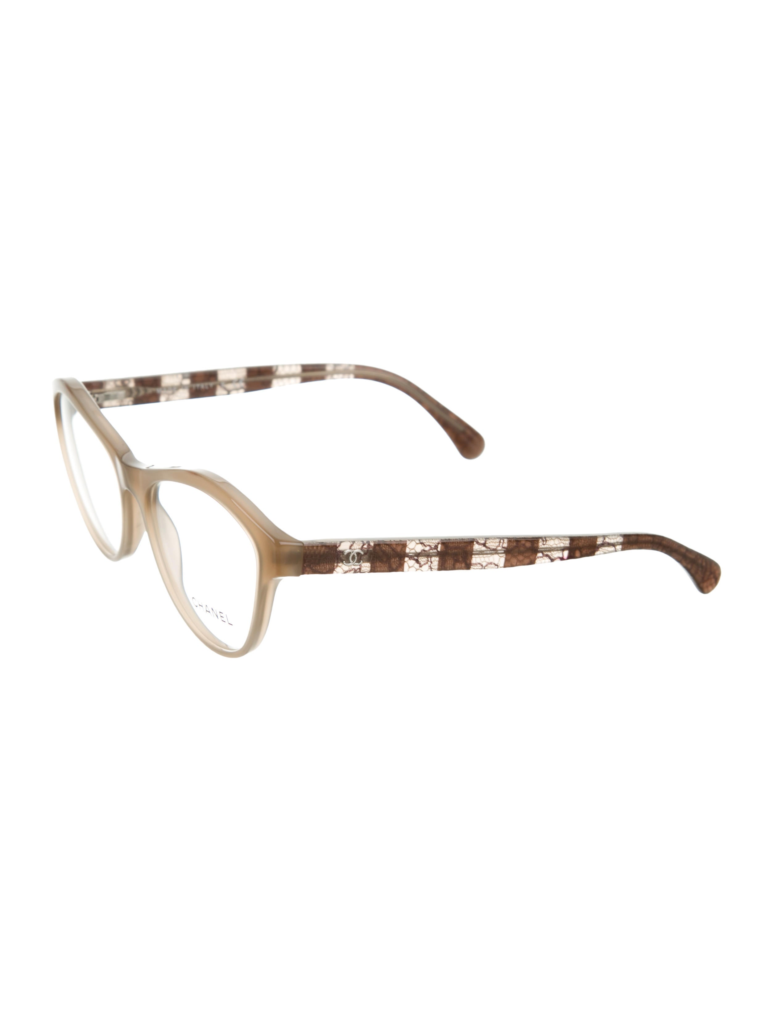 chanel cat eye lace eyeglasses w tags accessories