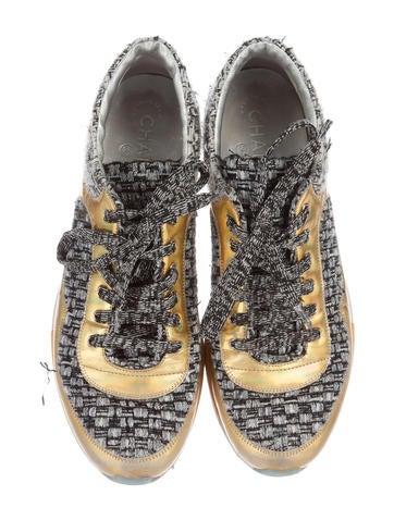 Tweed Low-Top Sneakers