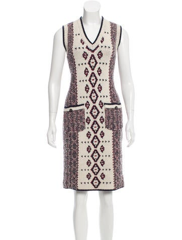 Chanel Paris-Dallas Alpaca Dress None