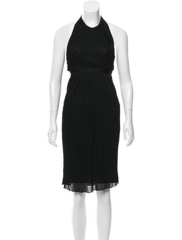 Chanel Knit Halter Dress w/ Tags None
