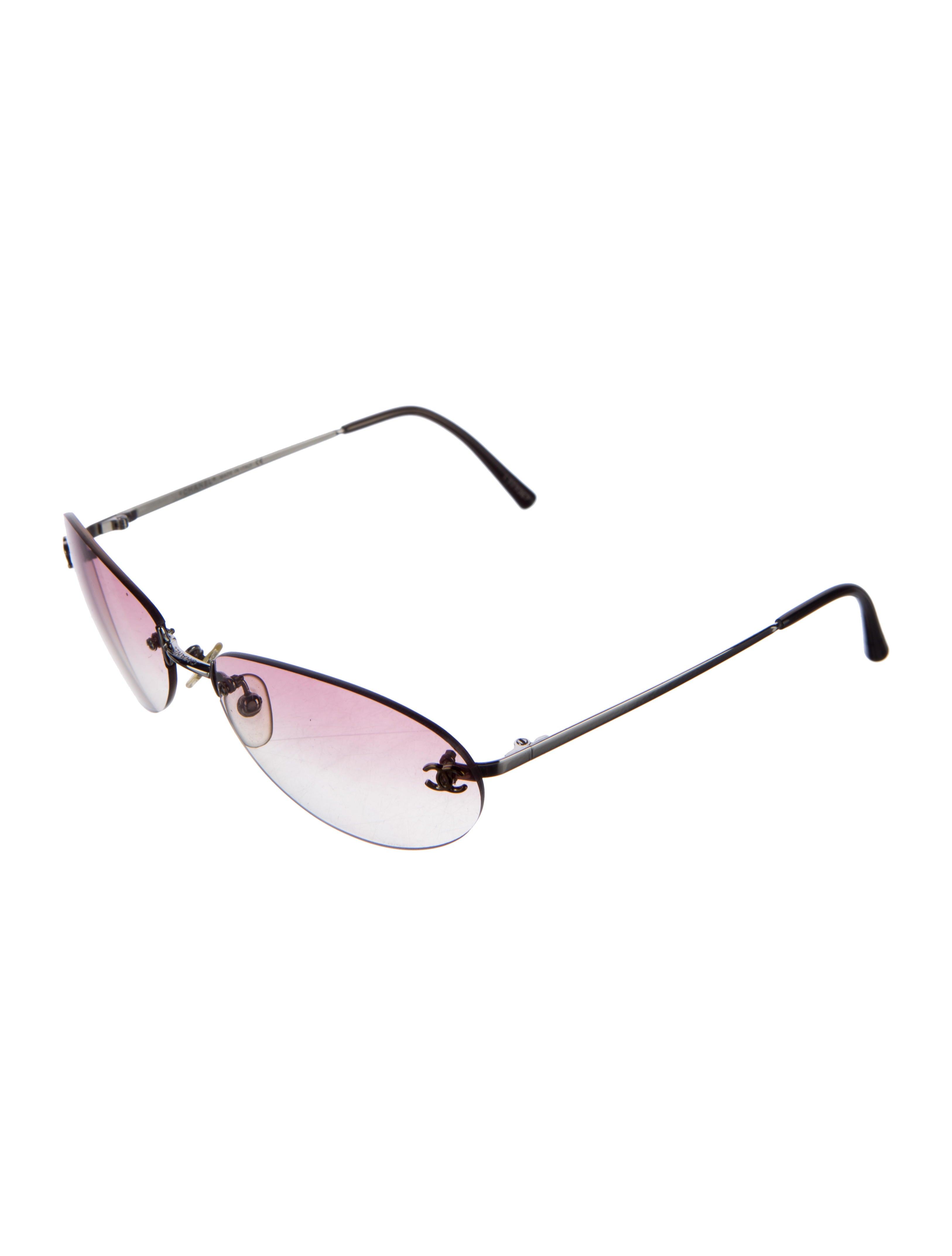 Rimless Chanel Glasses : Chanel Rimless CC Sunglasses - Accessories - CHA161636 ...