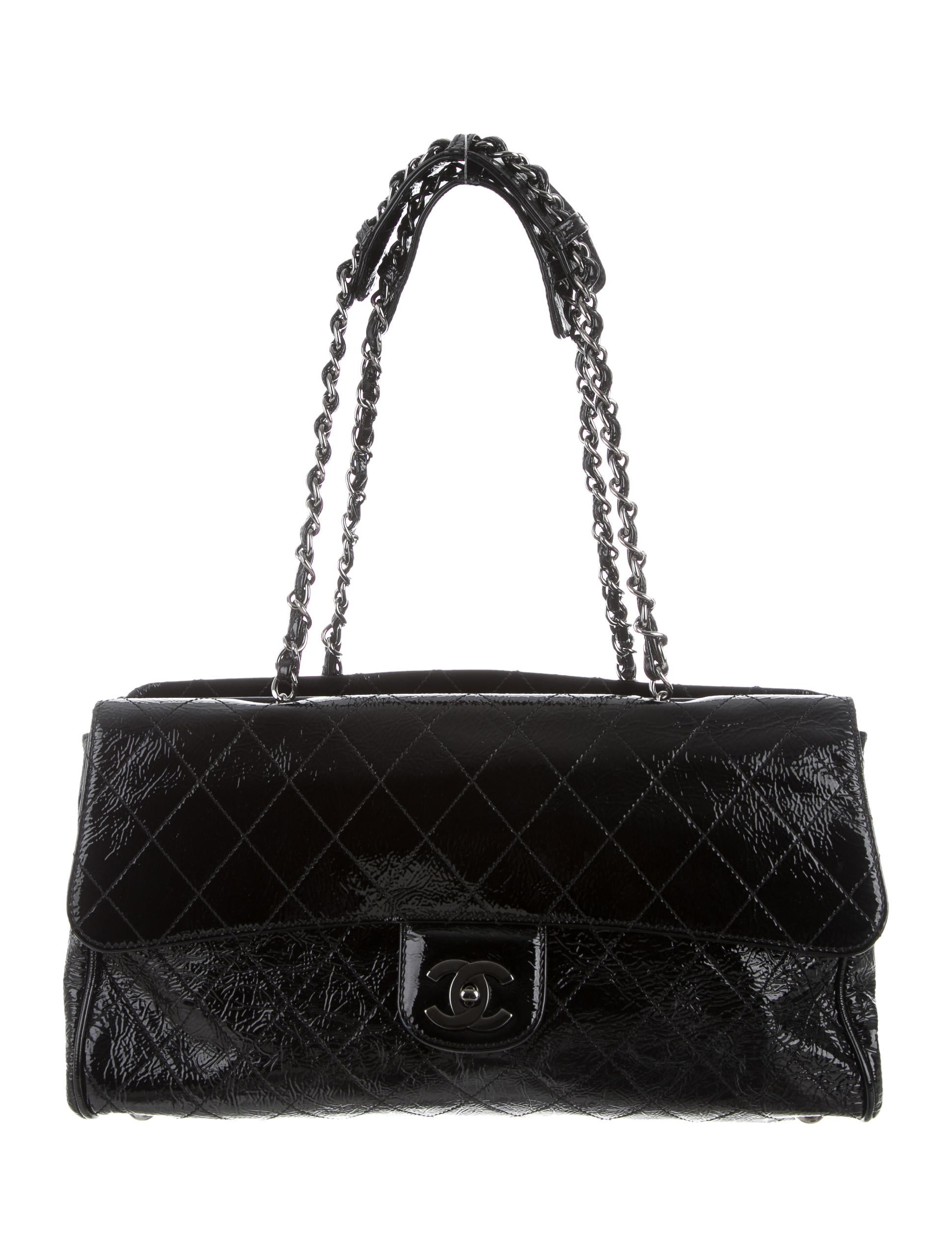 5f1b0869698b Chanel Patent Leather Flap Bag | Stanford Center for Opportunity ...