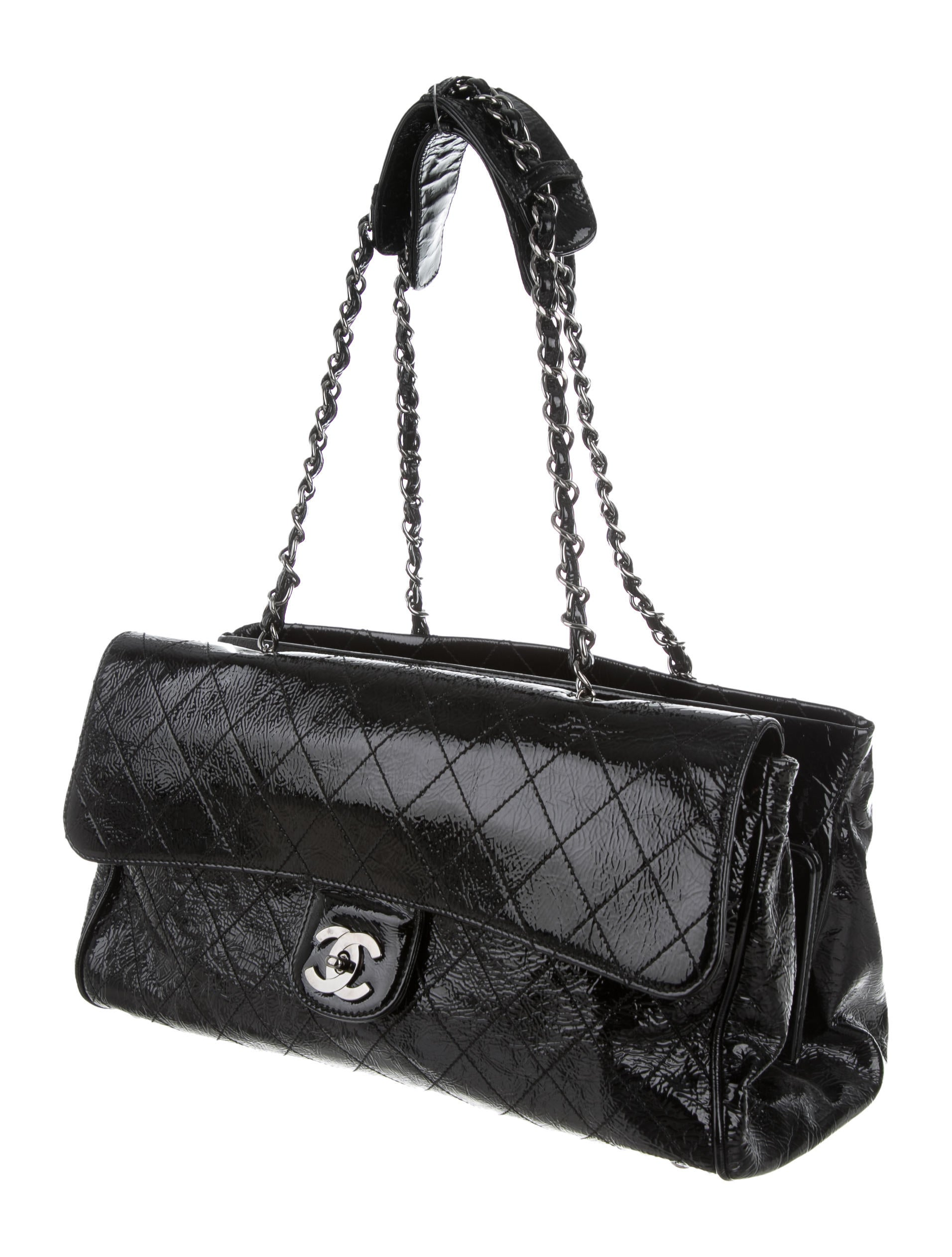 b0e18d096bb293 Chanel Patent Leather Flap Bag | Stanford Center for Opportunity ...